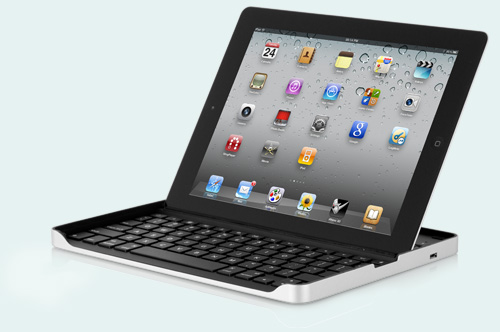 Logitech iPad 2 keyboard case by Zagg