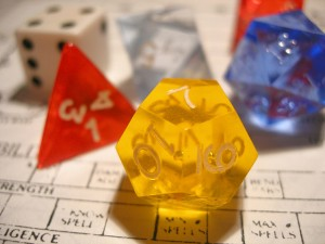 Analog Game Studies (Dice Photo by Dave Ward)