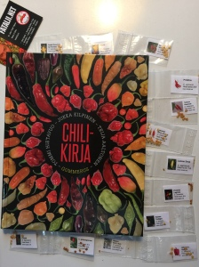 Chilikirja / Chilli book & seeds, from Fataliiseeds.net