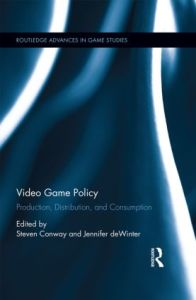 Video Game Policy (book cover).