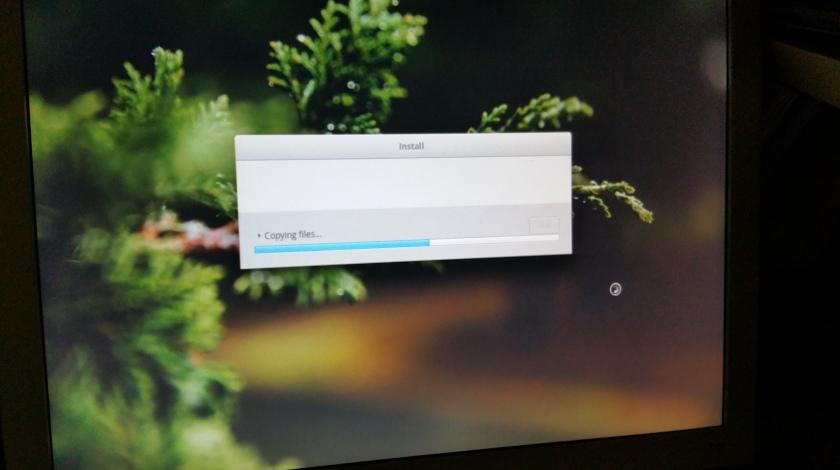 """Installing elementary OS (""""loki"""")"""